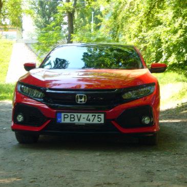 Tized(ik)es – Honda Civic 1,0t