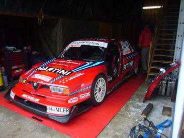 Egykori DTM autó. És sokszoros olasz hegyi bajnok...