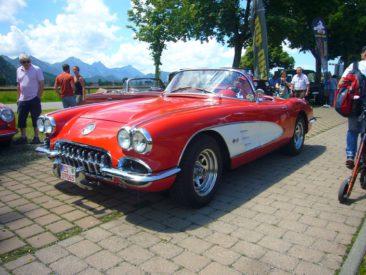 Érkezett egy Corvette is