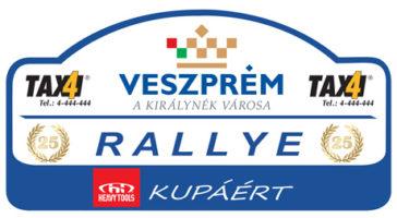 Élőben a 25. Veszprém Rallye-ról