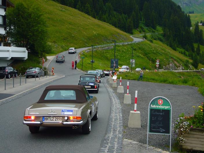A csúcs közelében – Arlberg Classic