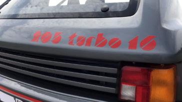 Valakinek egy Peugeot 205? De T16!