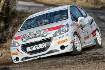Ráduplázott a Peugeot 208 Rallye Kupa