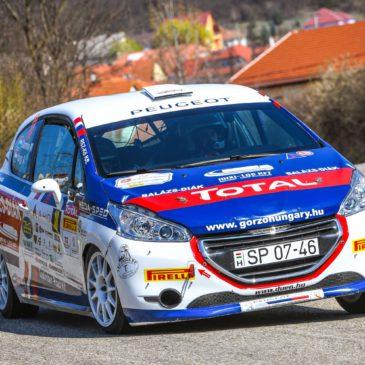 Csomósék nyerték a Peugeot 208 Kupát Egerben